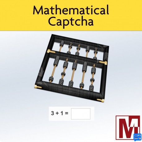 Mathematical Captcha, the most simple and effective method