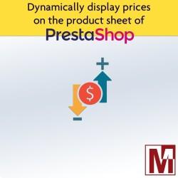 Dynamic price display